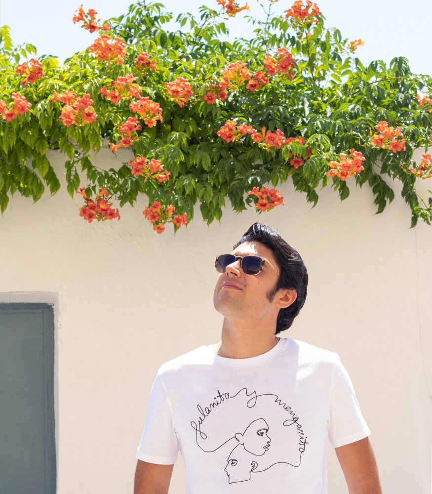 "Camiseta unisex ""Fulanita y menganito"" white"