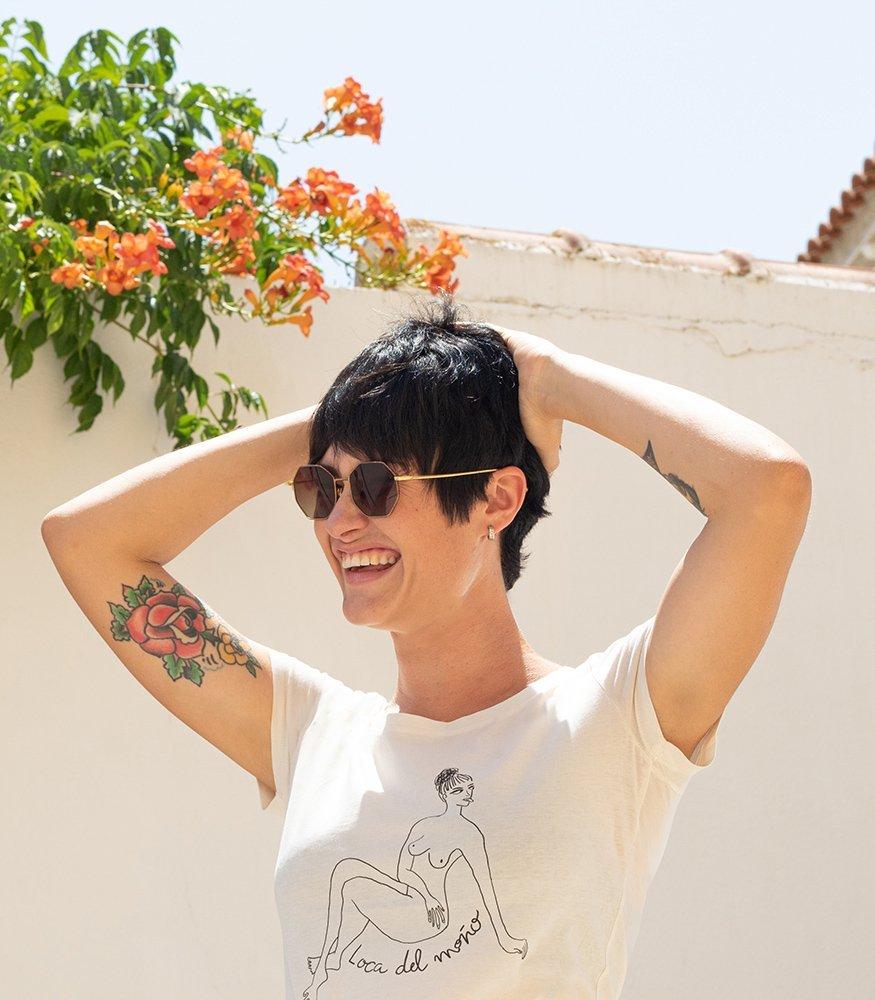 """Camiseta unisex """"Loca del moño"""""""