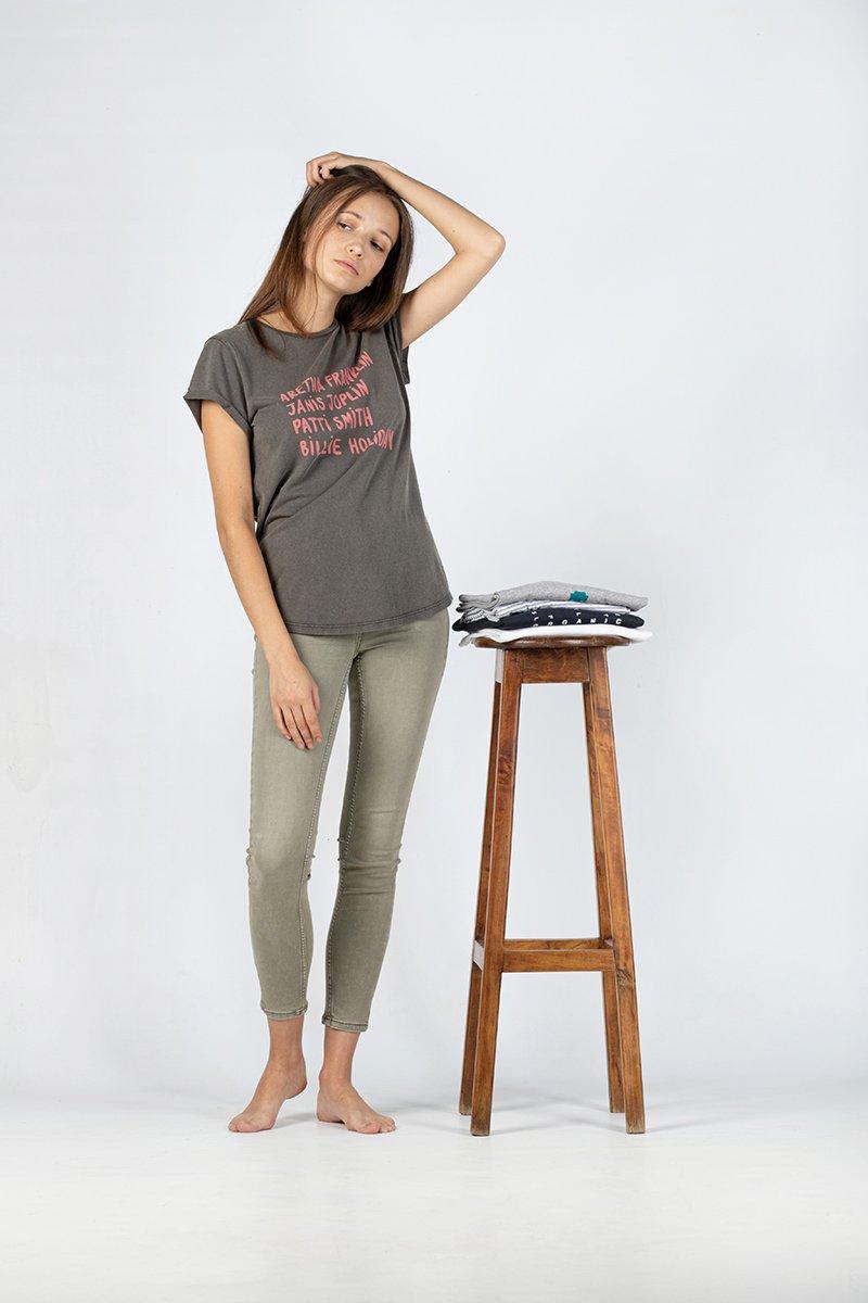Camiseta orgánica Aretha