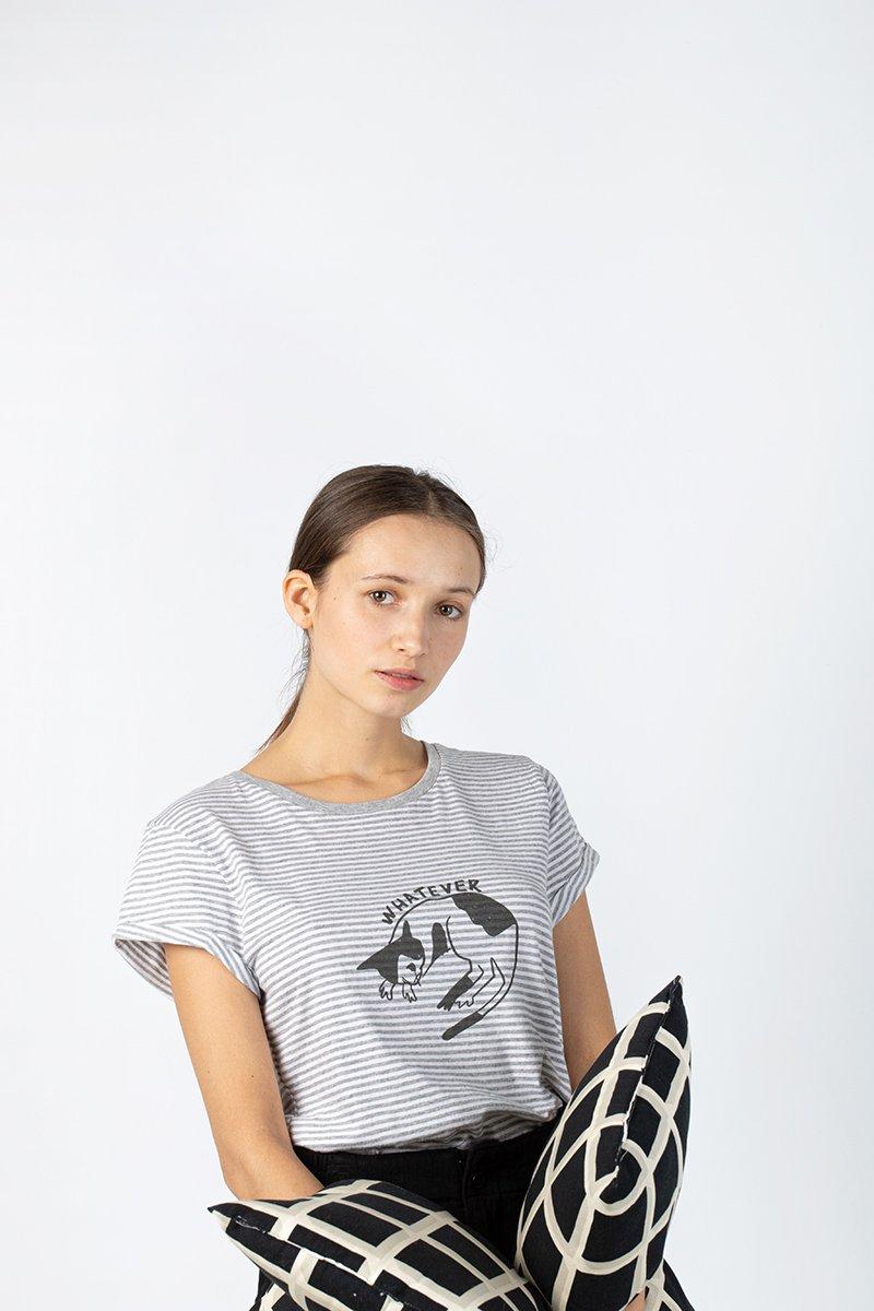 camisetas algodón orgánico mujer