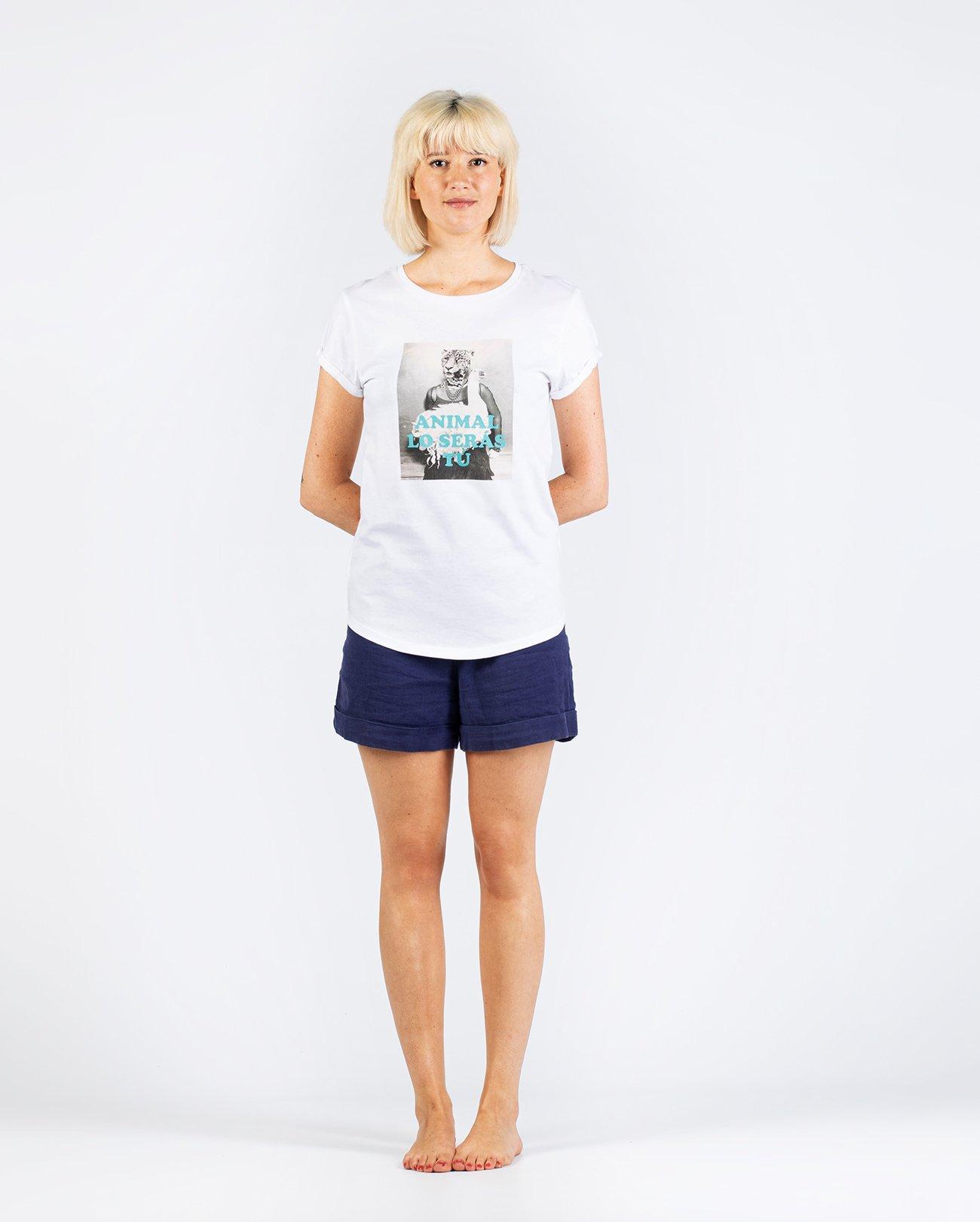 Camiseta Algodón orgánico mujer