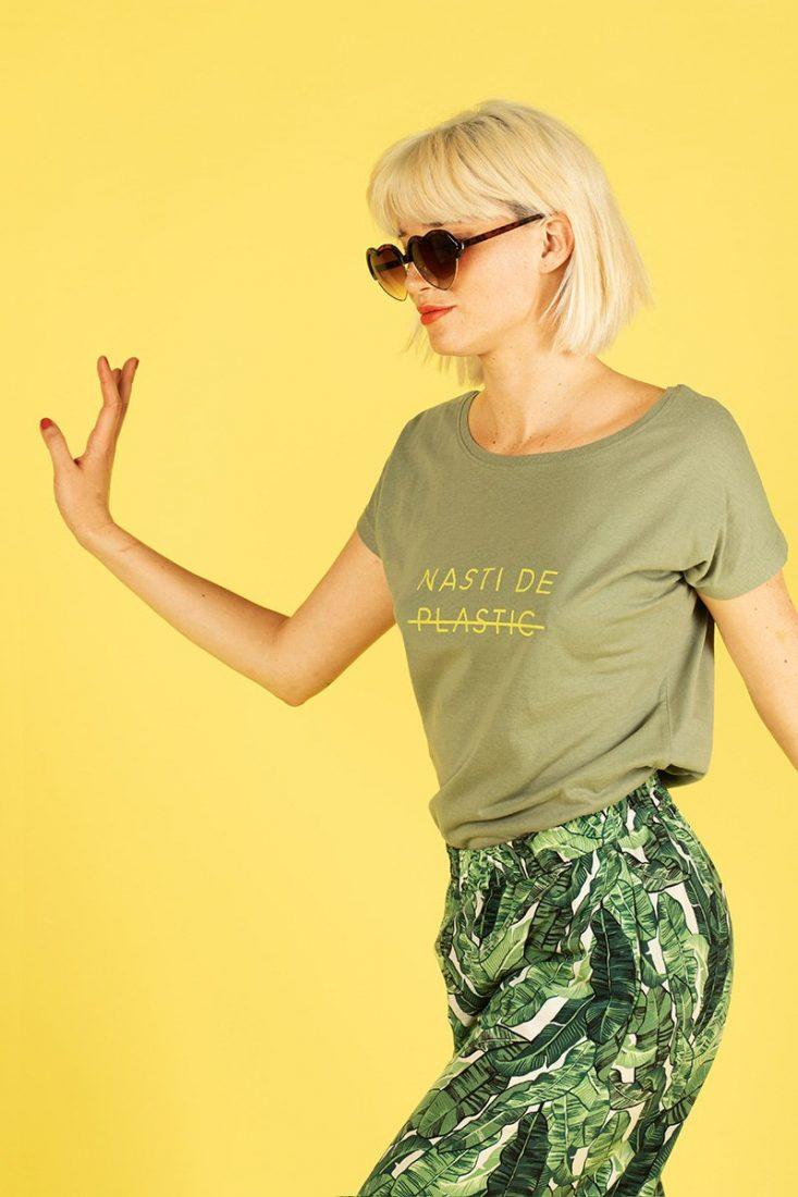 Camiseta Nasti de Plastic Olive