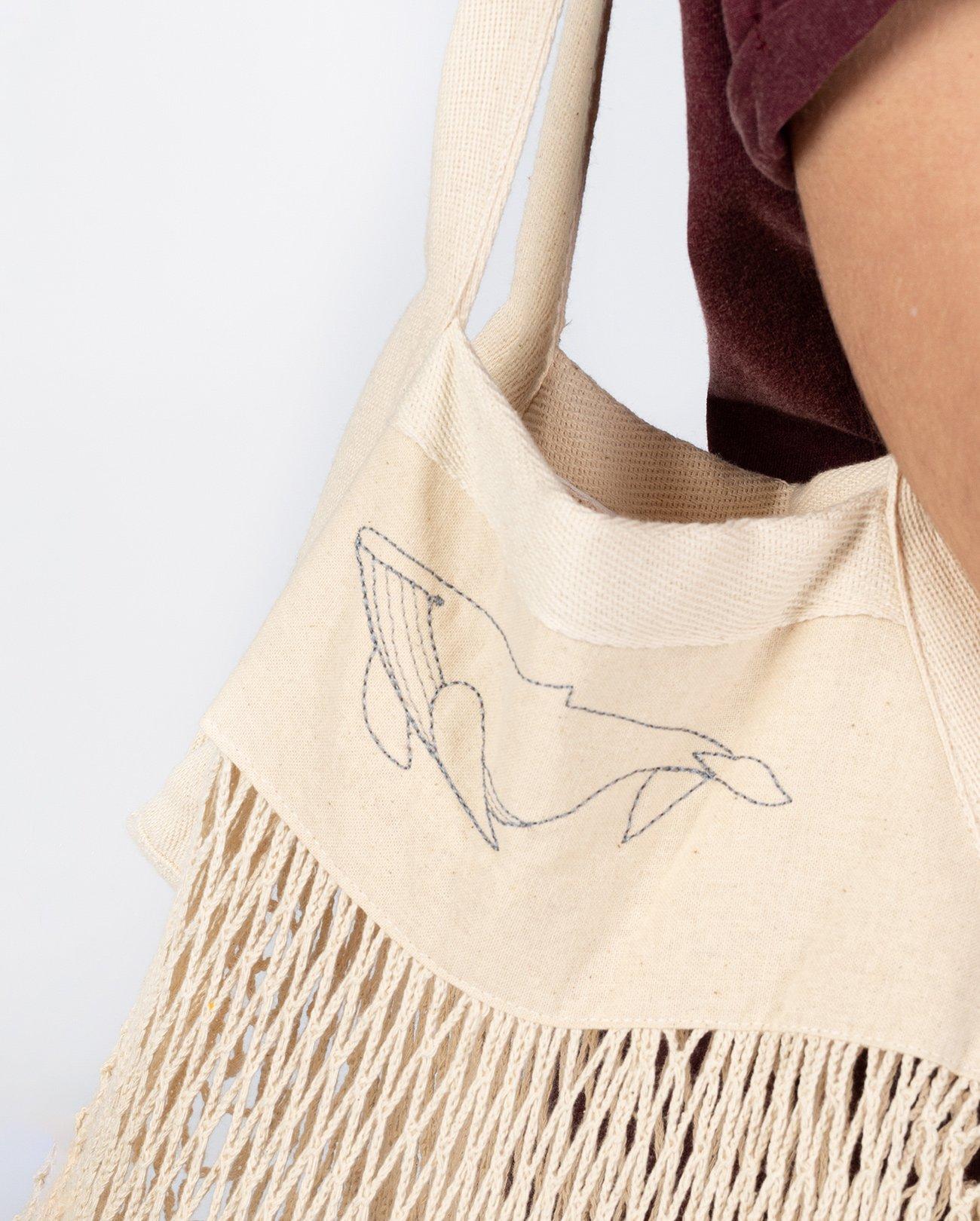 organic shopper bag